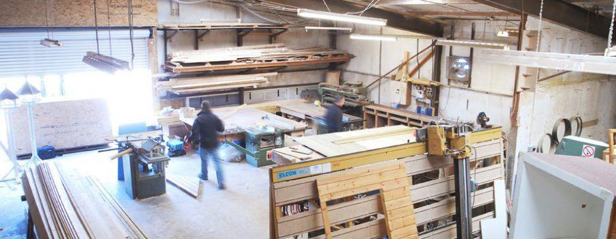 workshop interior view